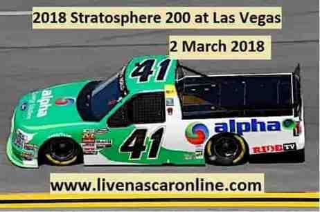 2018 NASCAR Truck Series Las Vegas Live Stream