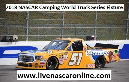 2018 NASCAR Camping World Truck Series Fixture
