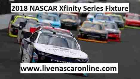2018 NASCAR Xfinity Series Fixture