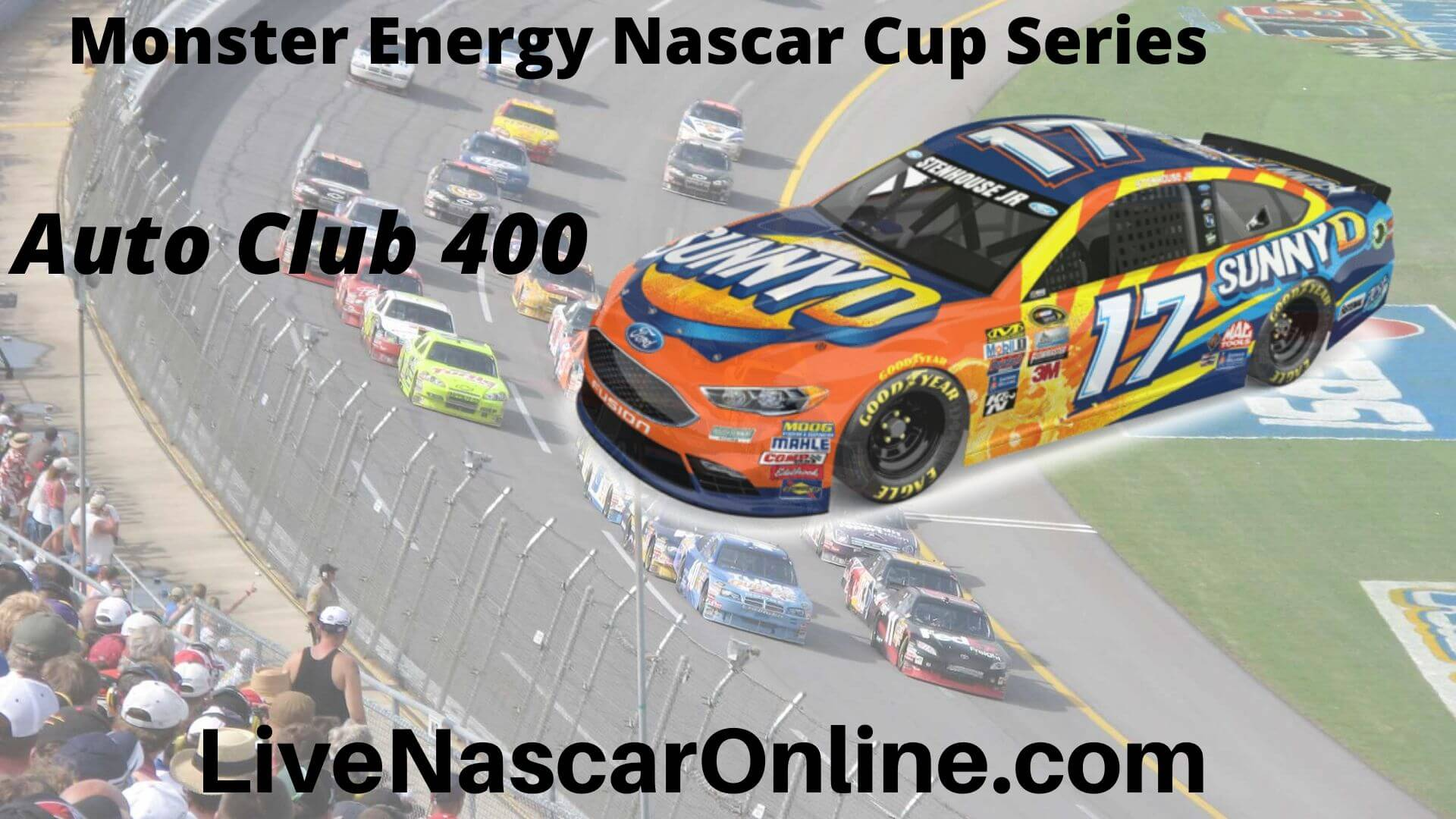 Live Auto Club 400 NASCAR Streaming