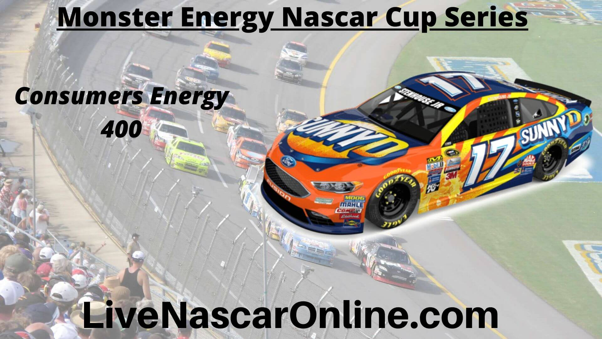 Monster Energy NASCAR Cup Series Michigan Live