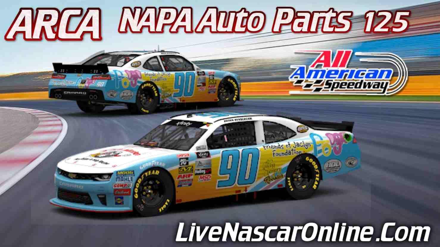 NAPA AUTO PARTS 125 Live Stream