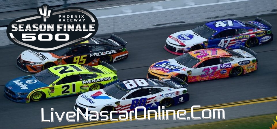 Season Finale 500 Live Stream NASCAR Cup Series