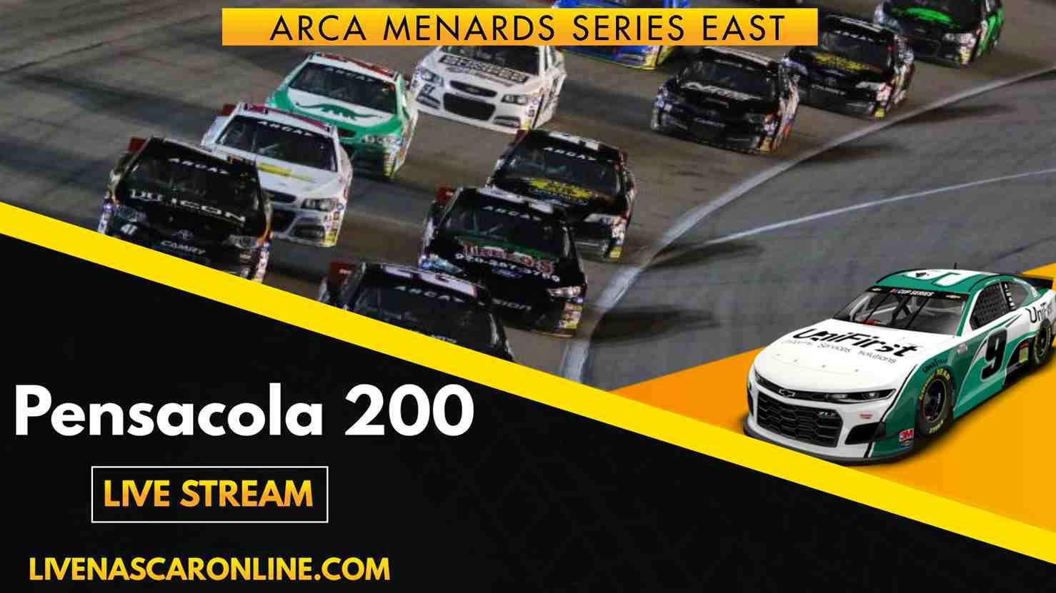 ARCA Pensacola 200 Live Stream