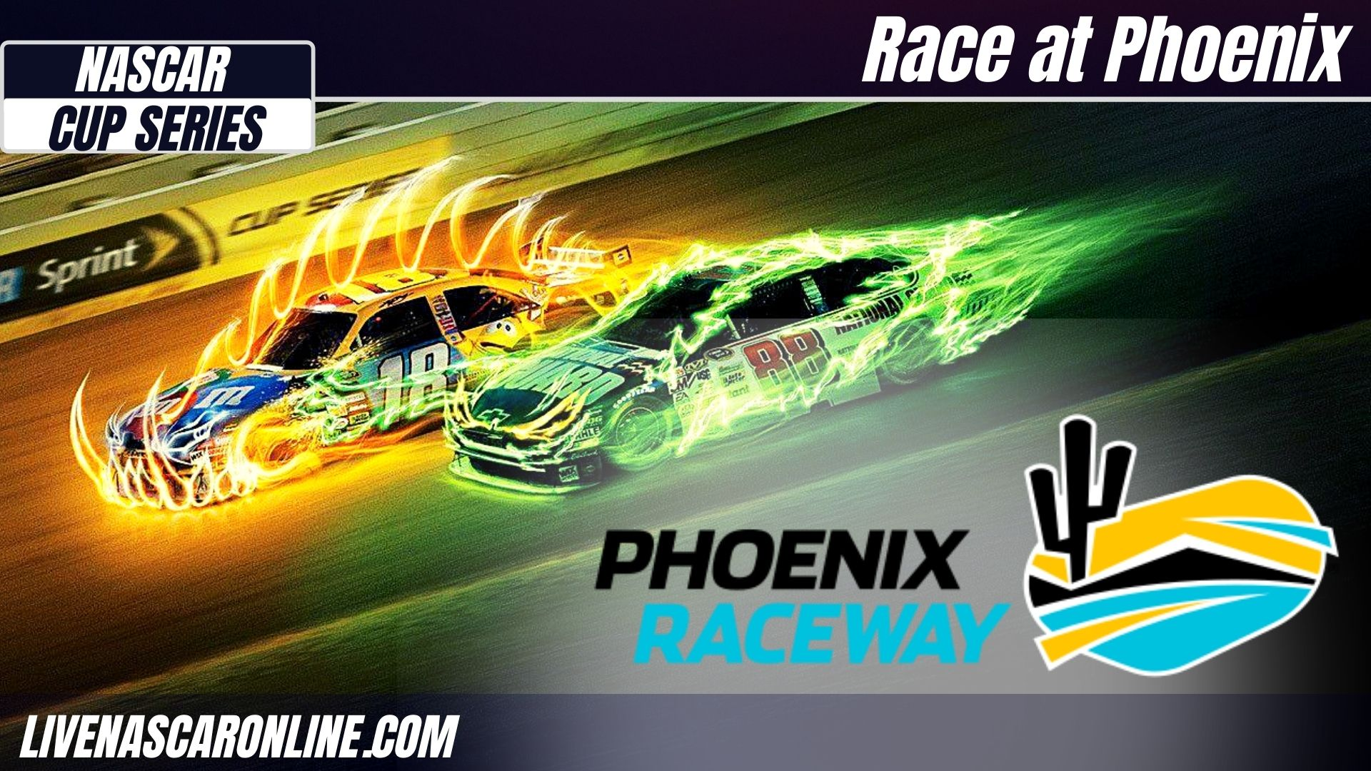 NASCAR Cup Series Race at Phoenix Live Stream