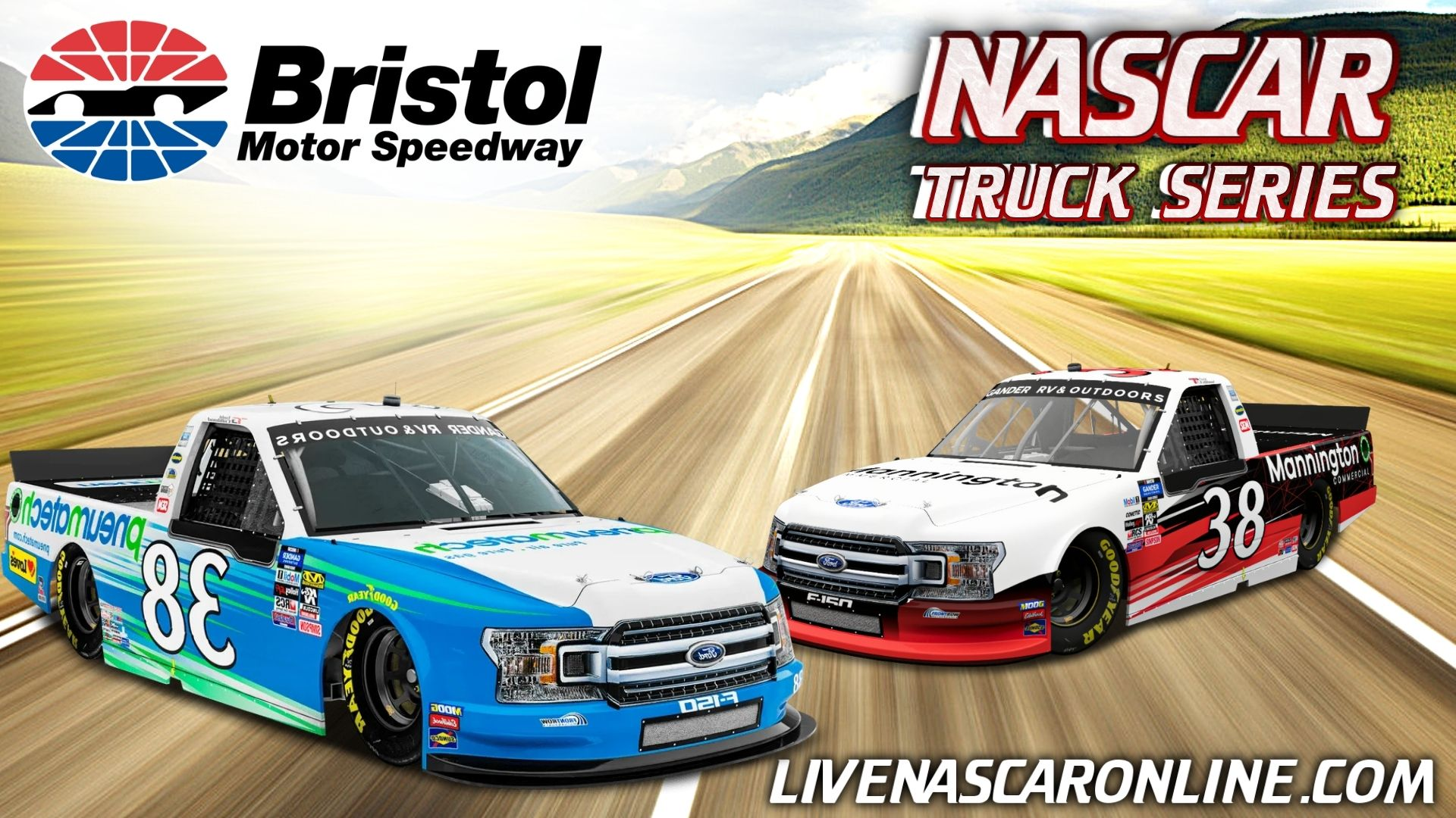 NASCAR Truck Series At Bristol Live Stream