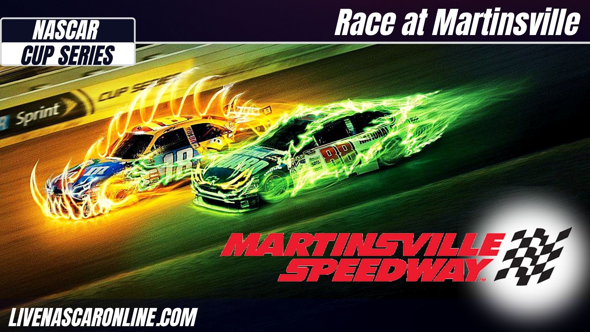 NASCAR Cup Series at Martinsville Live Stream