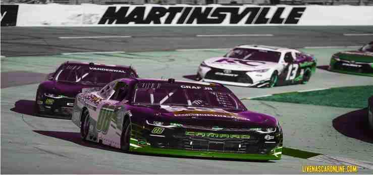 2021 Martinsville Xfinity Race Postoned Until Sunday