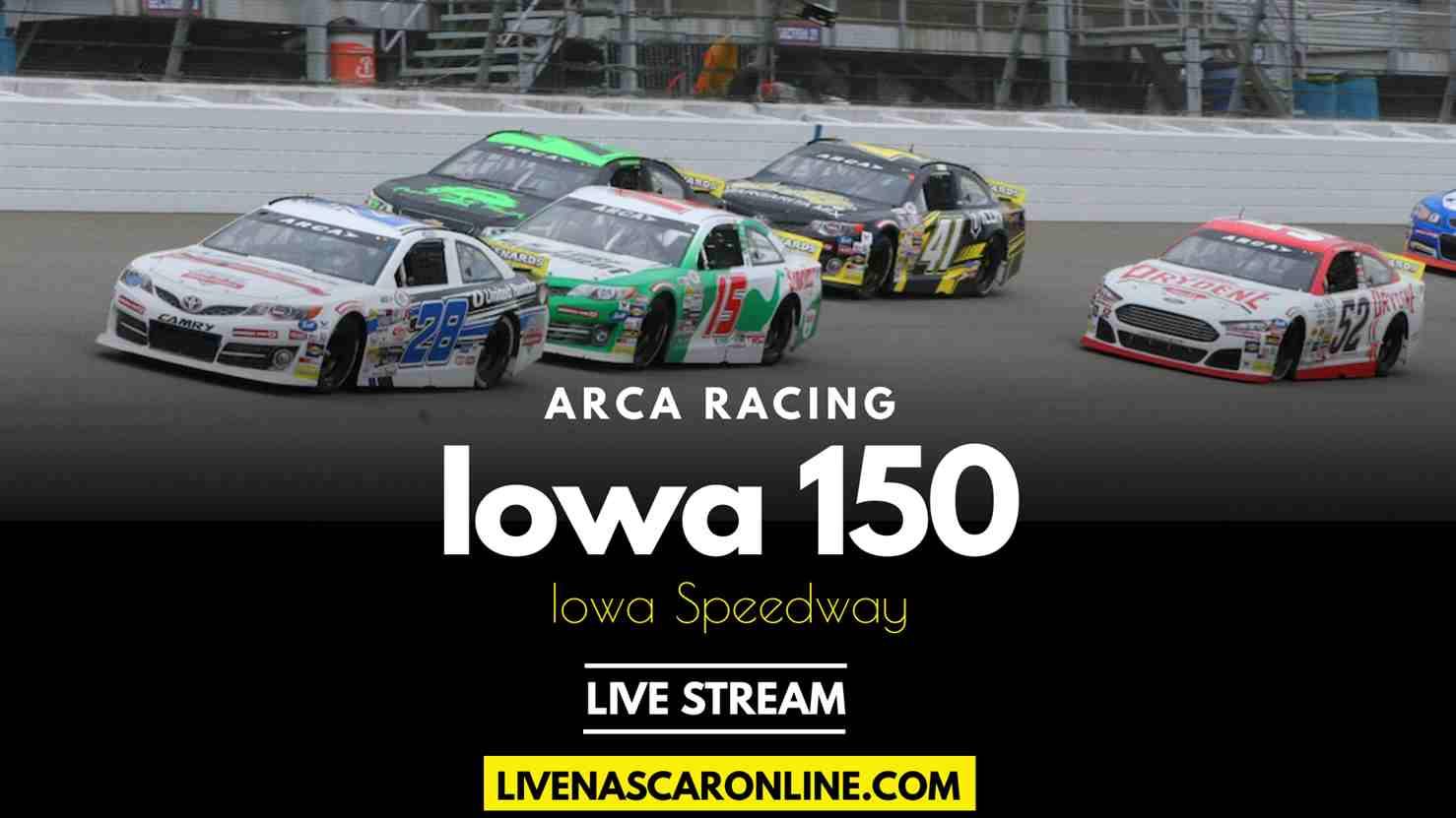 Shore Lunch 150 ARCA at Iowa Live Stream