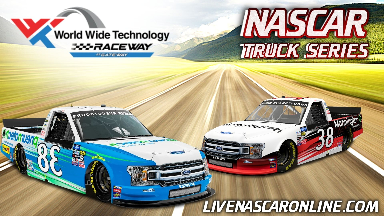 NASCAR Truck Series Gateway 200 Race Live Stream