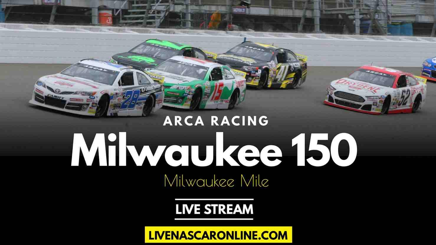 Sprecher 150 ARCA Live Stream