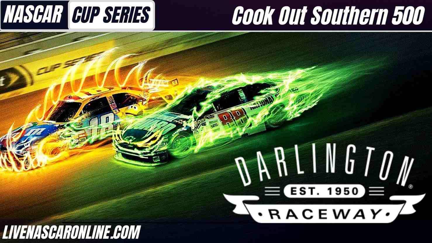 Cook Out Southern 500 NASCAR Darlington Live Stream