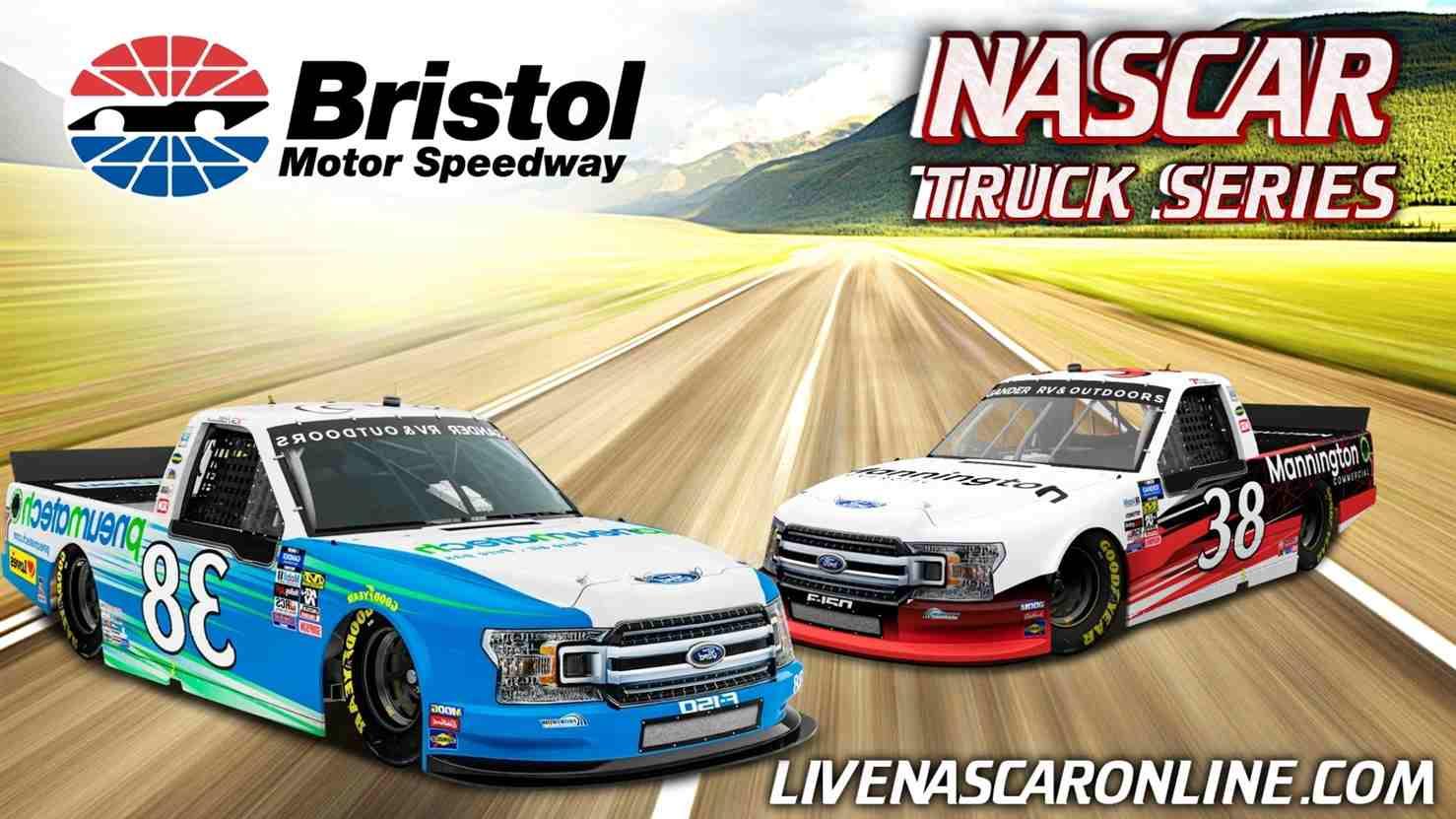 UNOH 200 NASCAR Truck at Bristol Live Stream