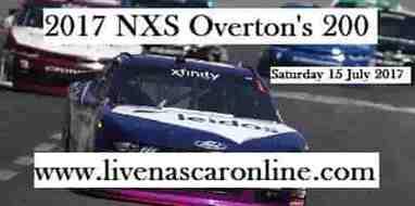 NASCAR Xfinity Overtons 200 Live Stream