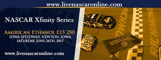NASCAR Xfinity Series Iowa HD Live