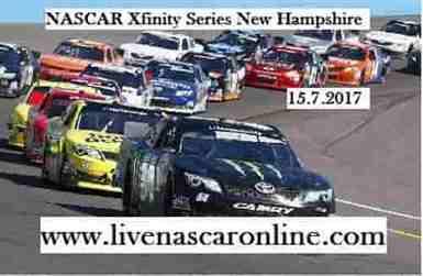 NASCAR Xfinity Series New Hampshire Race Live