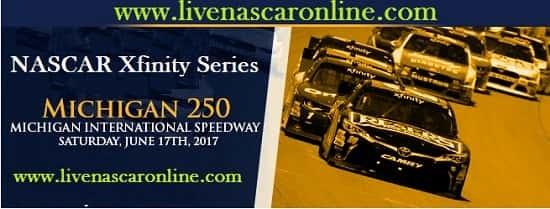 Xfinity Series Michigan 250 Live