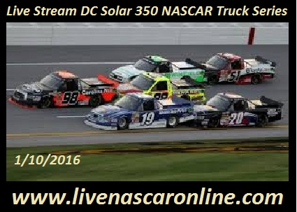 Live Stream DC Solar 350 NASCAR Truck Series