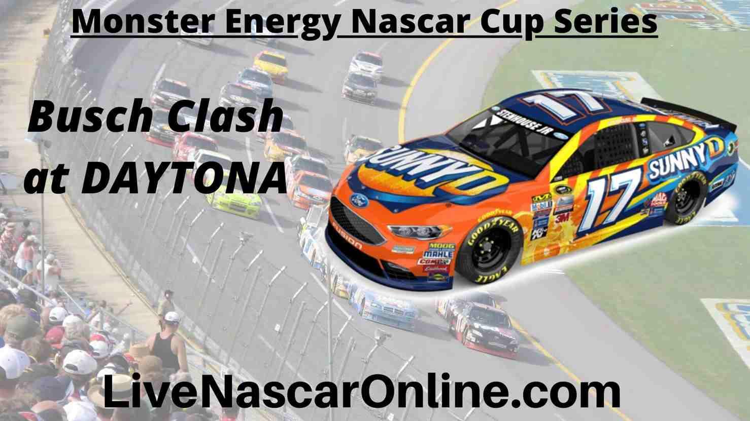 Busch Clash online Streaming | NASCAR CUP 2020