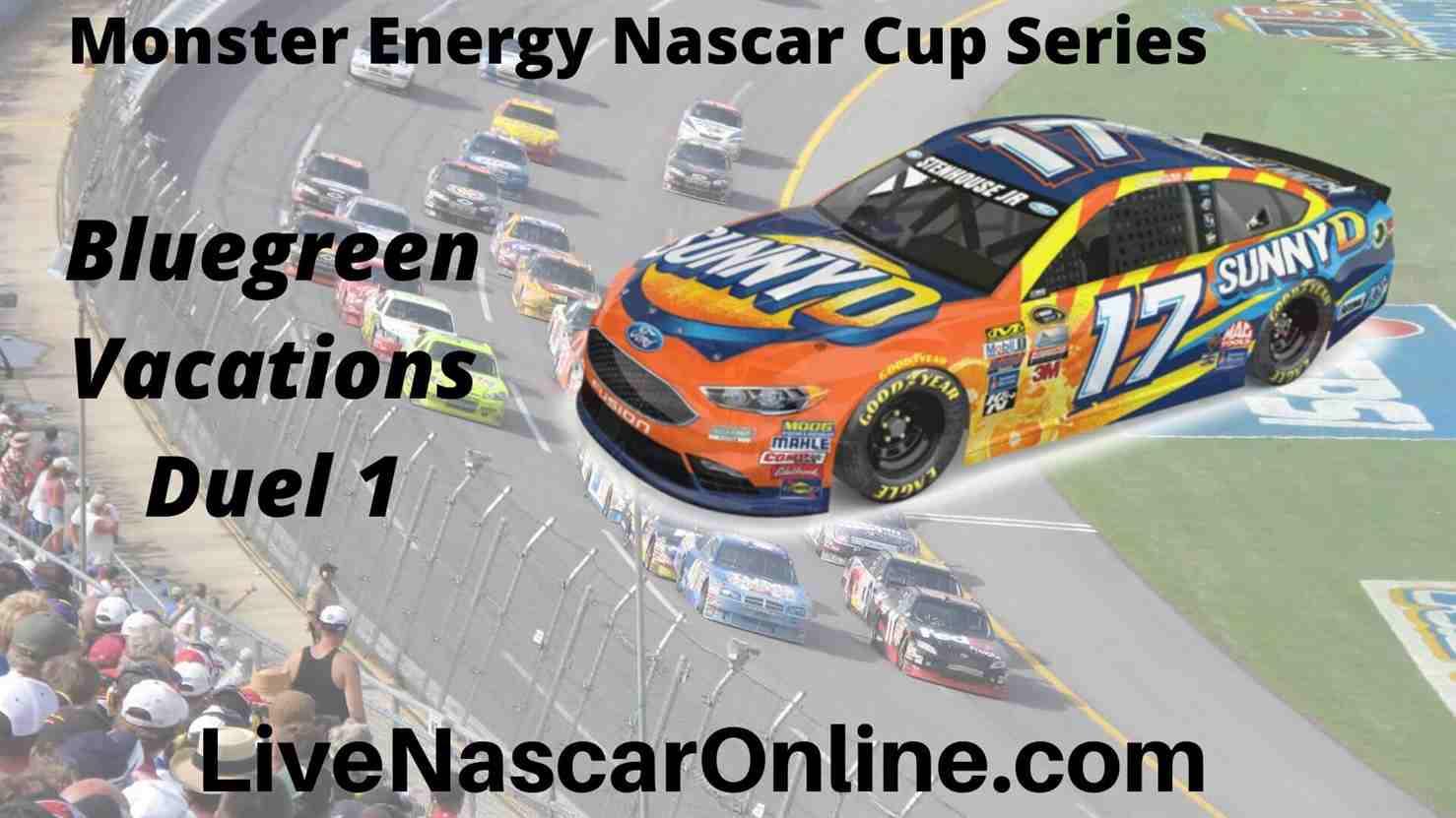 Bluegreen Vacations Duel 1 online Stream | NASCAR Daytona 2020