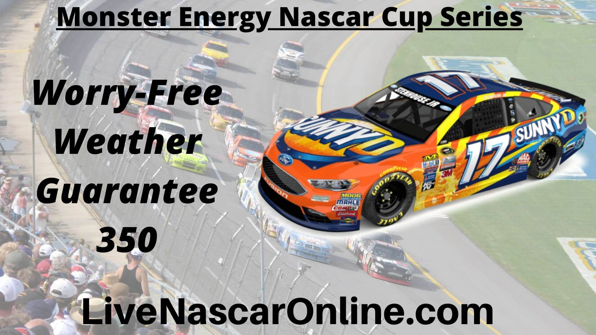 Worry Free Weather Guarantee 350 Online Stream | NASCAR Pocono 2020