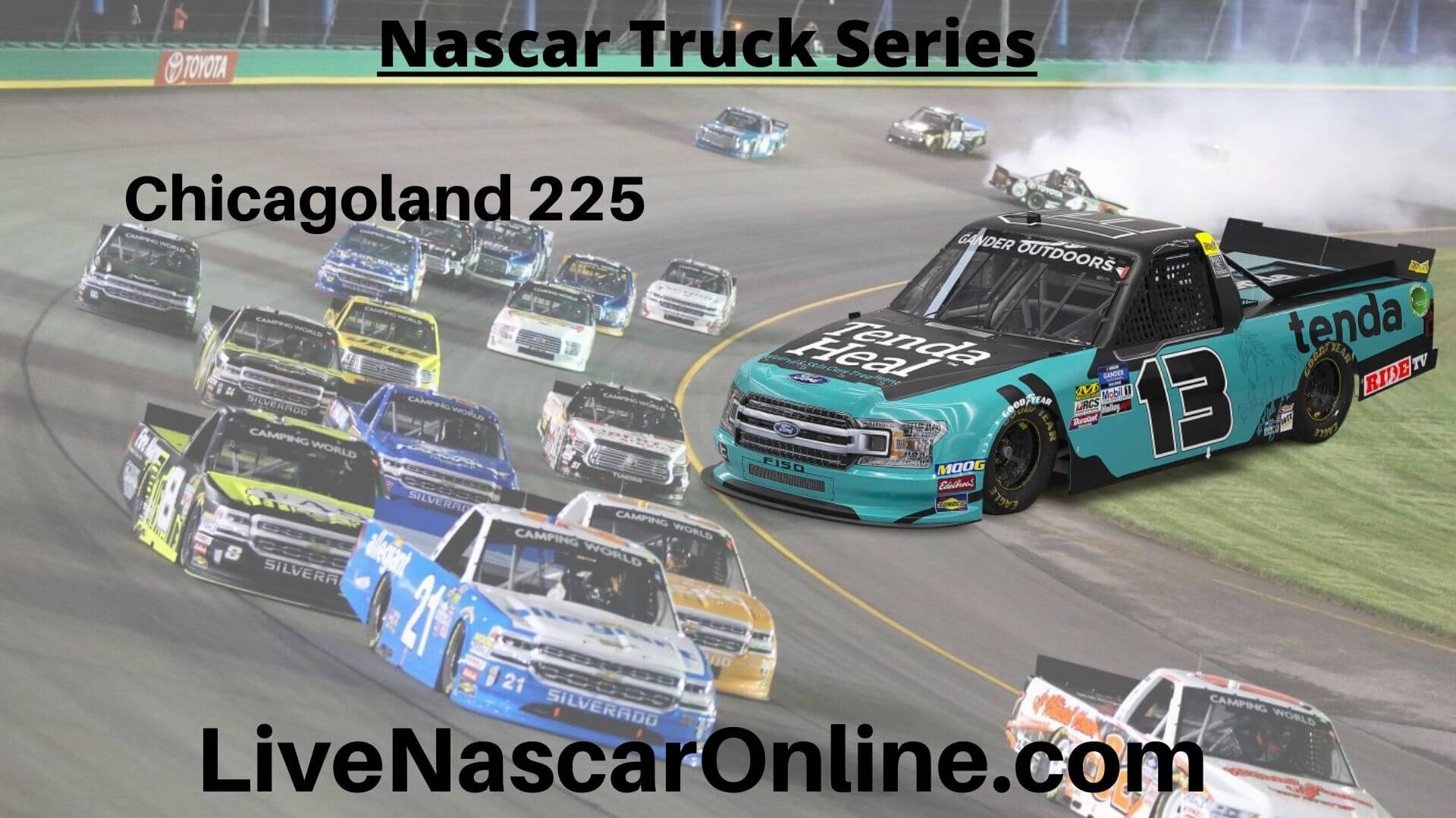 Chicagoland 225 Online Stream | NASCAR Chicagoland 2020