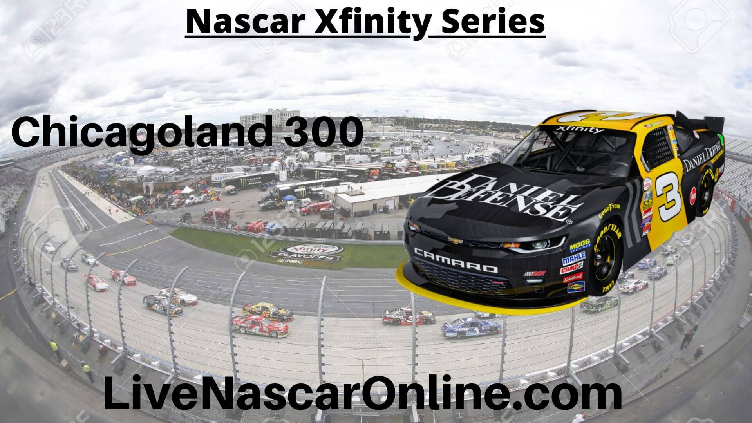Chicagoland 300 Online Stream | NASCAR Chicagoland 2020