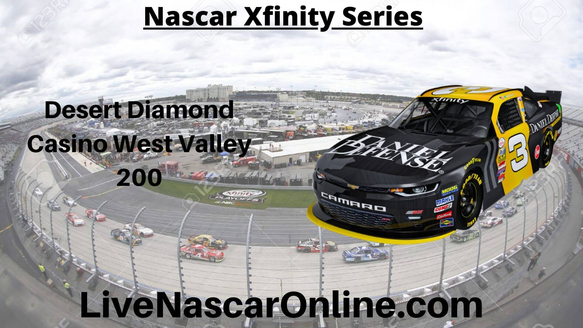 Desert Diamond Casino West Valley 200 Online Stream | NASCAR ISM Raceway 2020