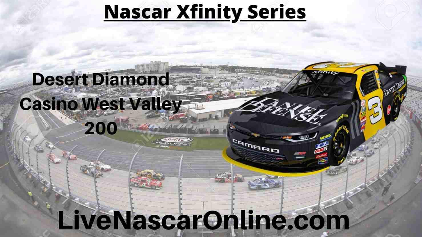 Desert Diamond Casino West Valley 200 Online Stream | NASCAR ISM Raceway 2020