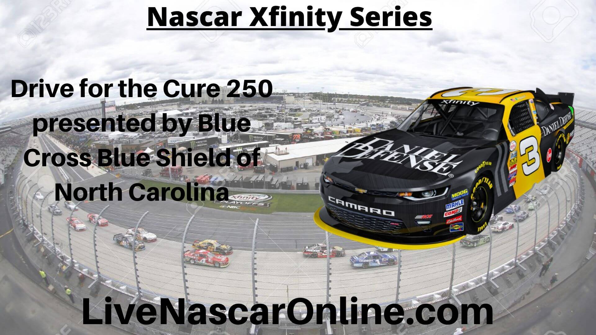 Drive for the Cure 250 Online Stream | NASCAR Charlotte 2020