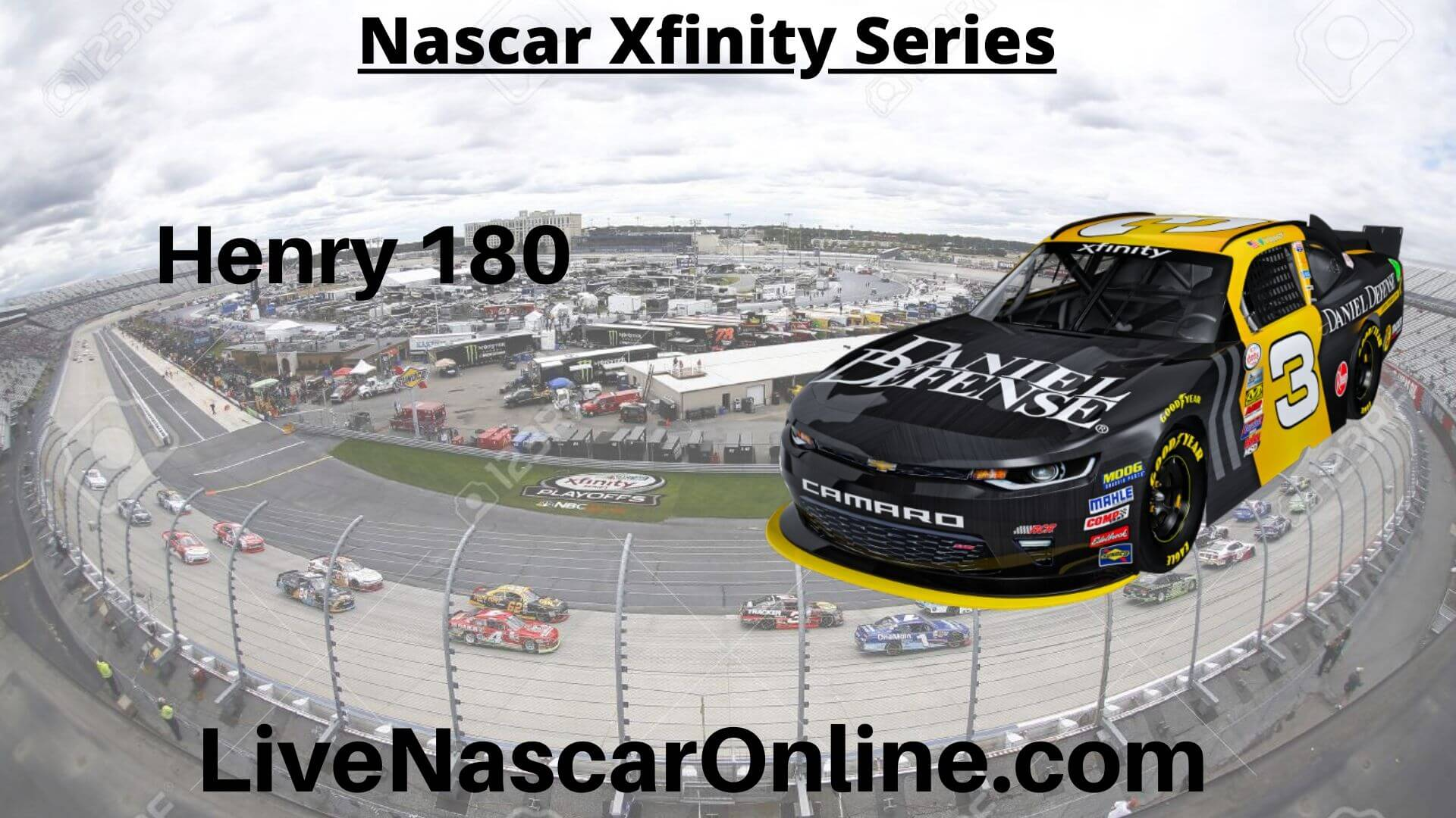 Henry 180 Online Stream | NASCAR Road America 2020