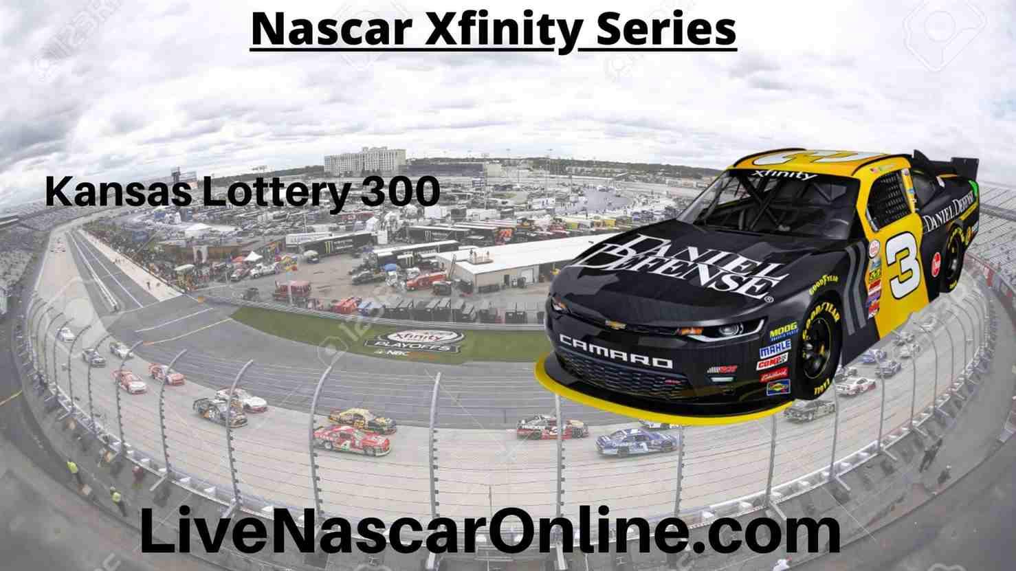 Kansas Lottery 300 Online Stream | NASCAR Kansas 2020