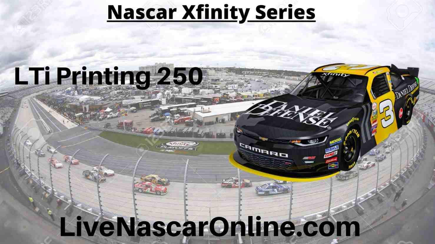 LTi Printing 250 Online Stream | NASCAR Michigan 2020