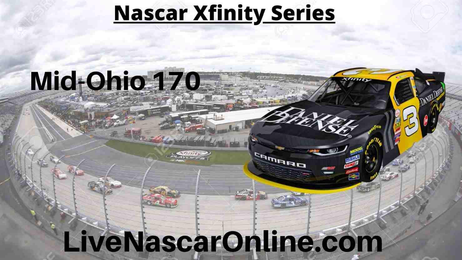 Mid Ohio 170 Online Stream | NASCAR Mid Ohio 2020