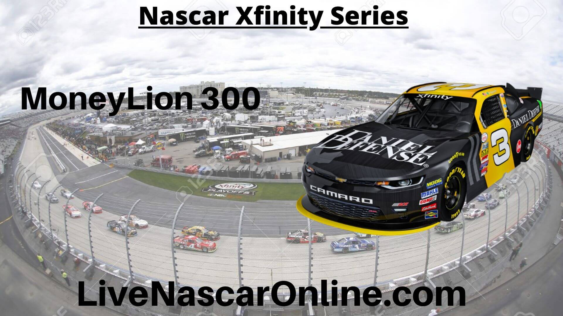 MoneyLion 300 Online Stream | NASCAR Talladega 2020