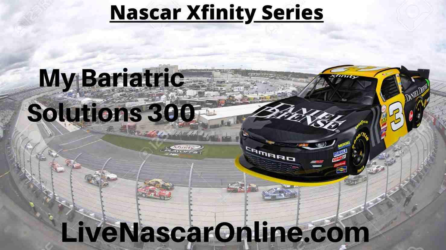 My Bariatric Solutions 300 Online Stream | NASCAR Texas 2020