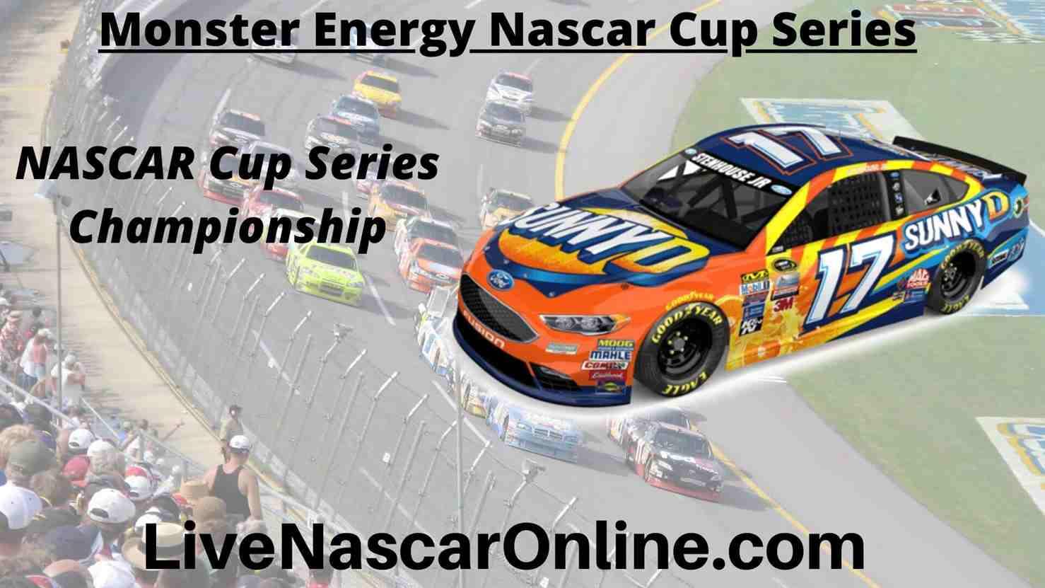 NASCAR Cup Series Championship at Phoenix Live Stream 2021