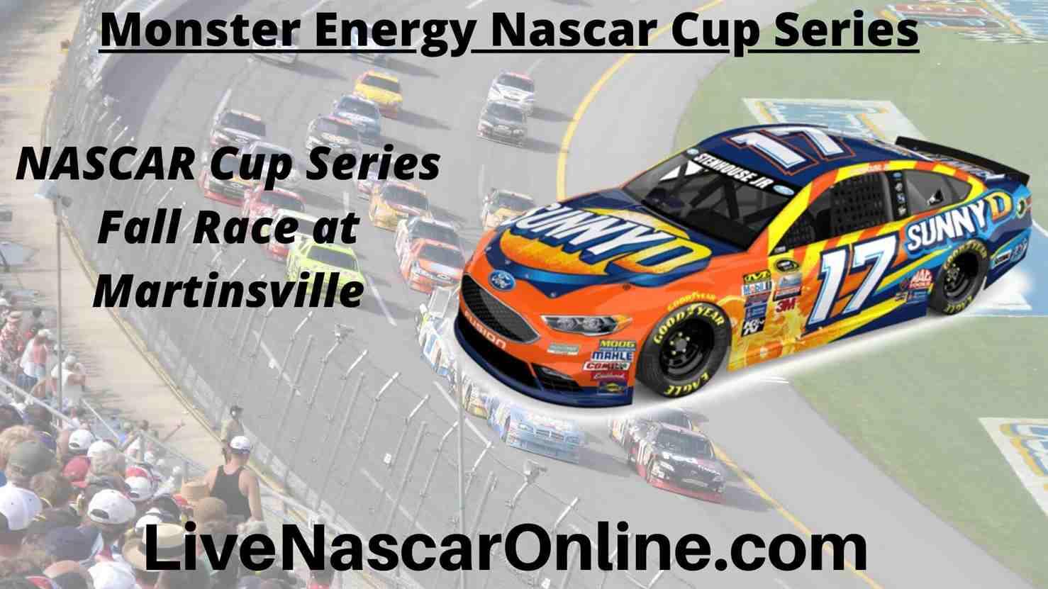 NASCAR Cup Series Fall Race at Martinsville Online Stream | NASCAR Martinsville 2020