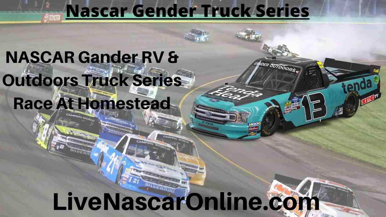 NASCAR Gander RV Online Stream | NASCAR Homestead Miami 2020