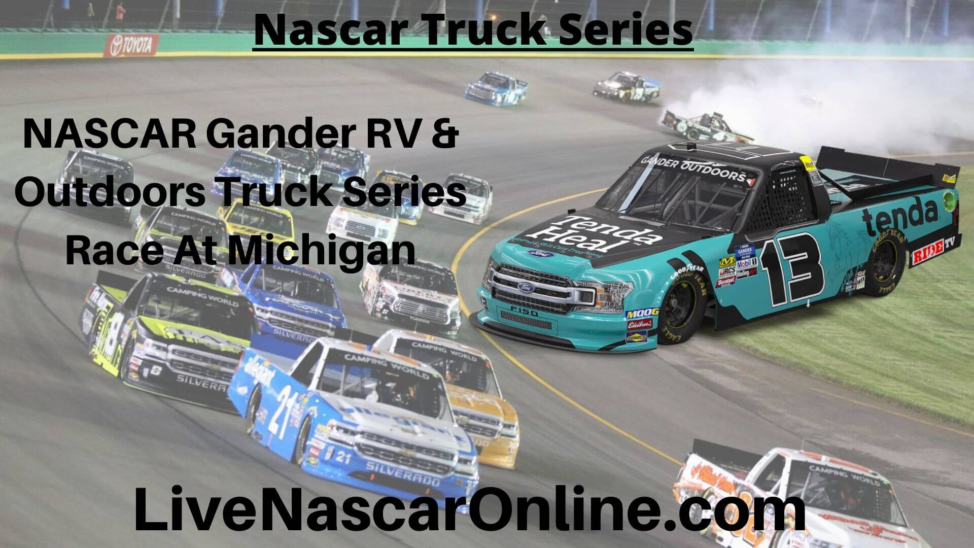 NASCAR Gander RV Online Stream | NASCAR Michigan 2020