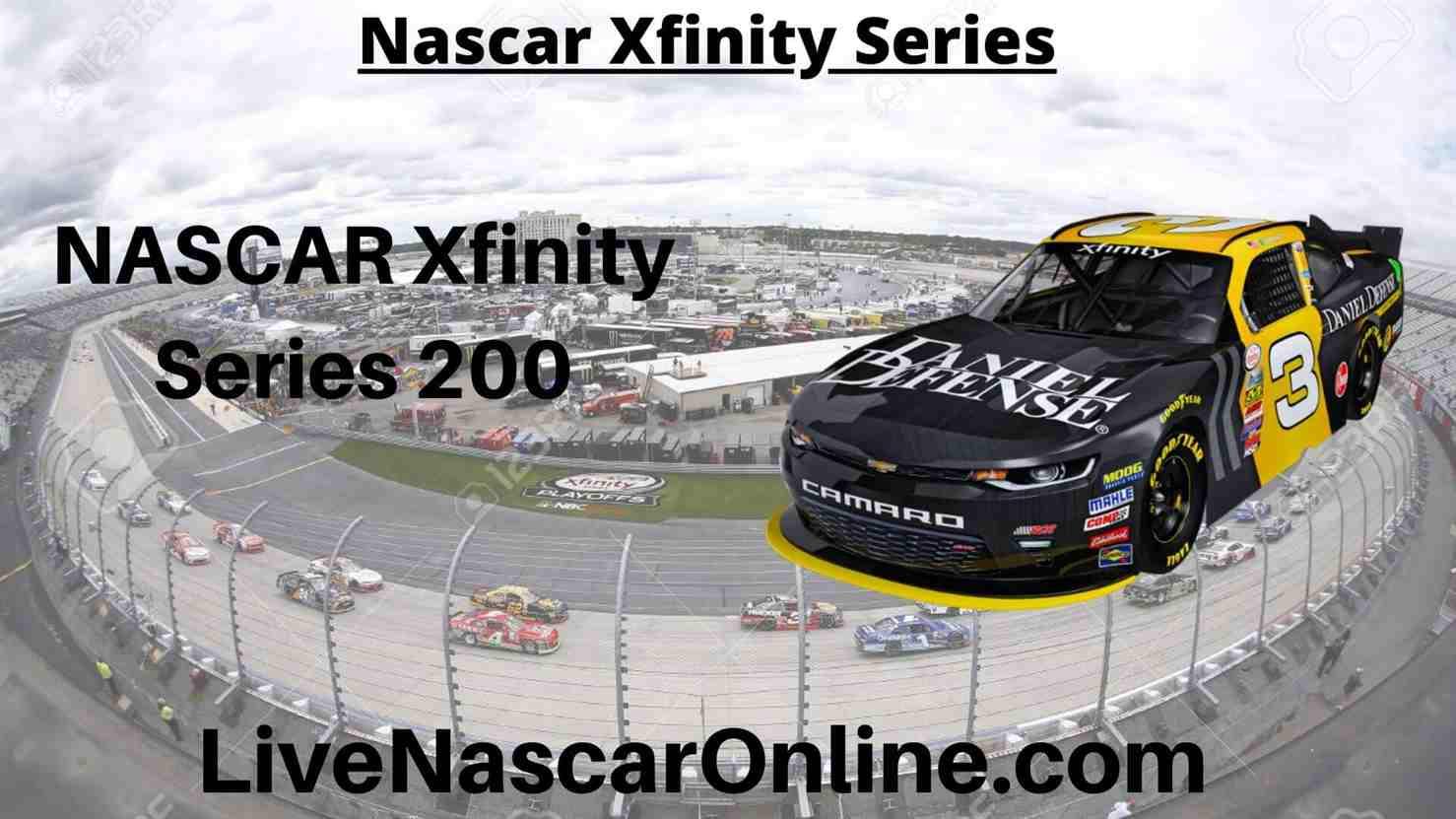 NASCAR Xfinity Series 200 Online Stream | NASCAR ISM Raceway 2020