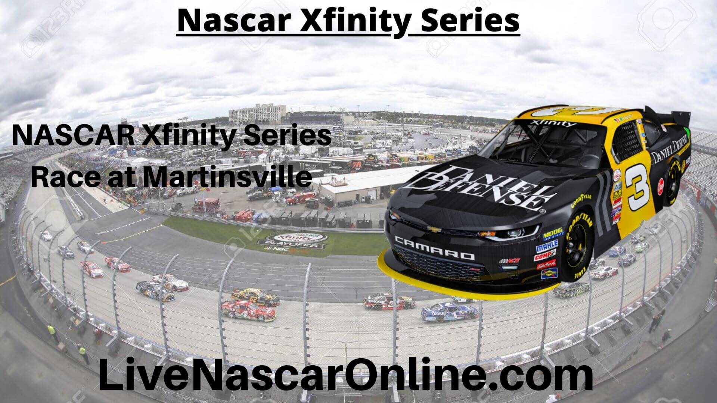 NASCAR Xfinity Series Online Stream | NASCAR Martinsville 2020
