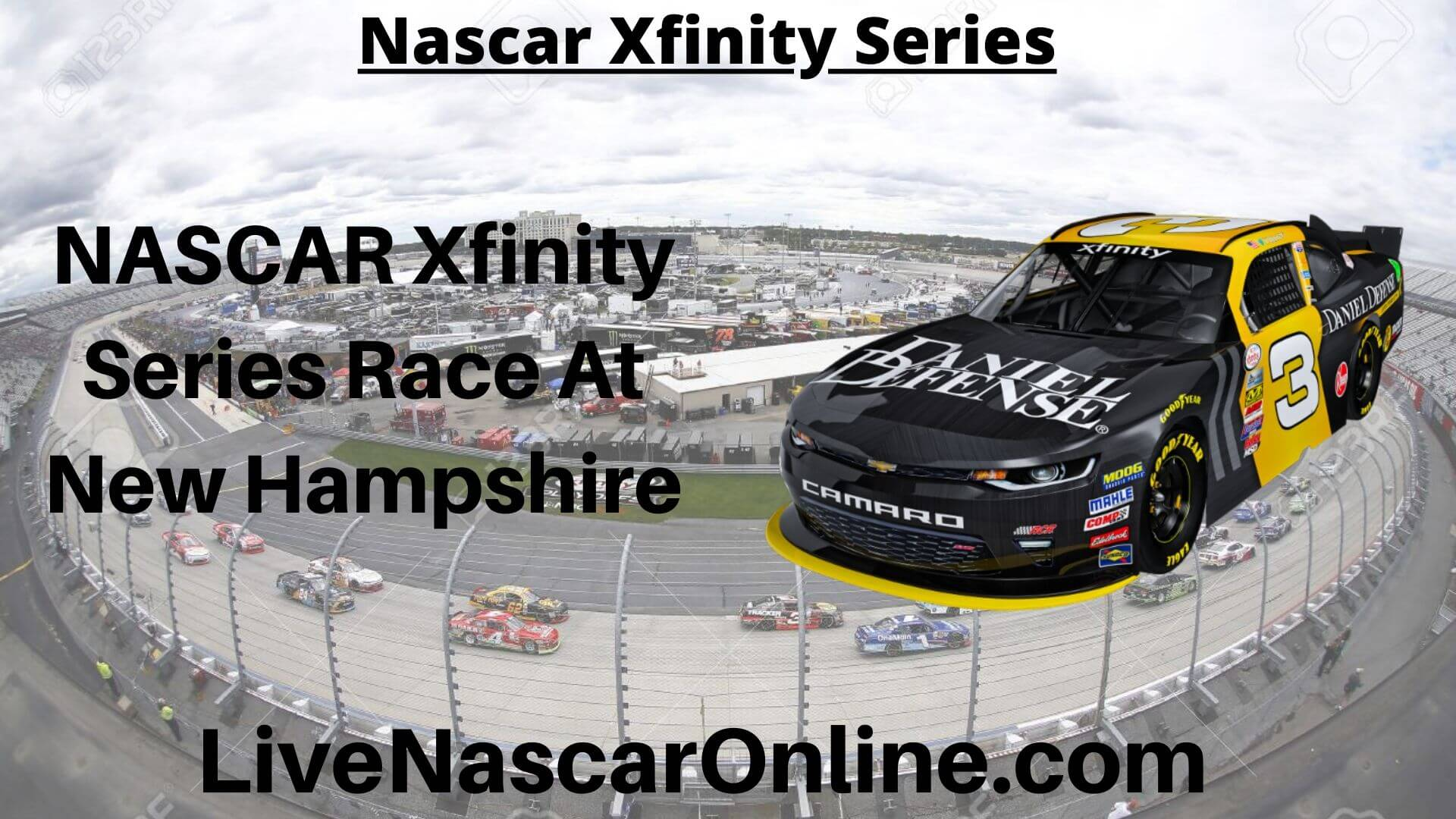 NASCAR Xfinity Series Online Stream | NASCAR New Hampshire 2020