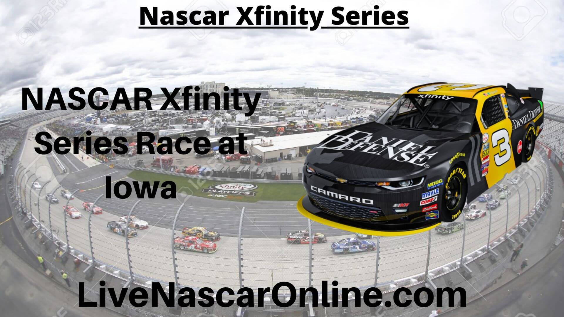 NASCAR Xfinity Series Race at Iowa Online Stream | NASCAR Iowa 2020