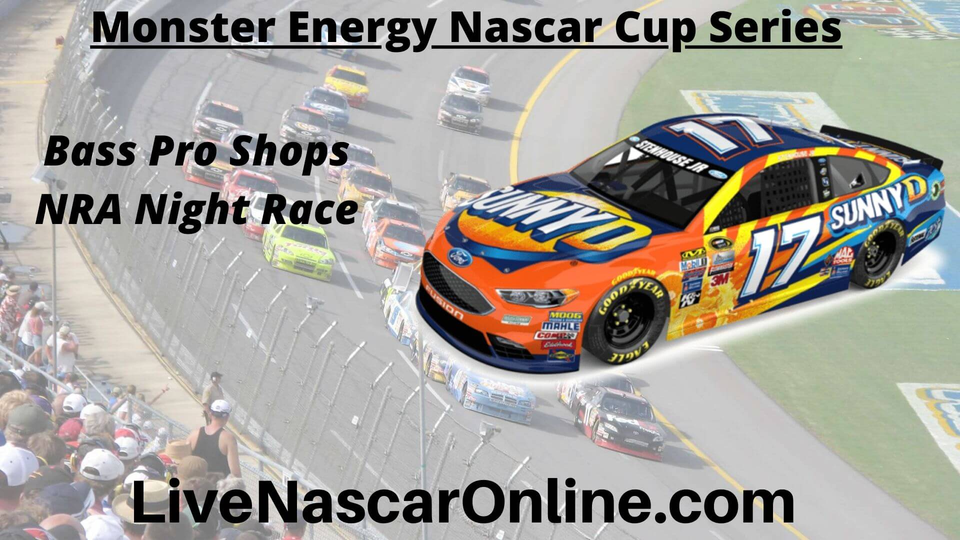 NRA Night Race Online Stream | NASCAR Bristol 2020
