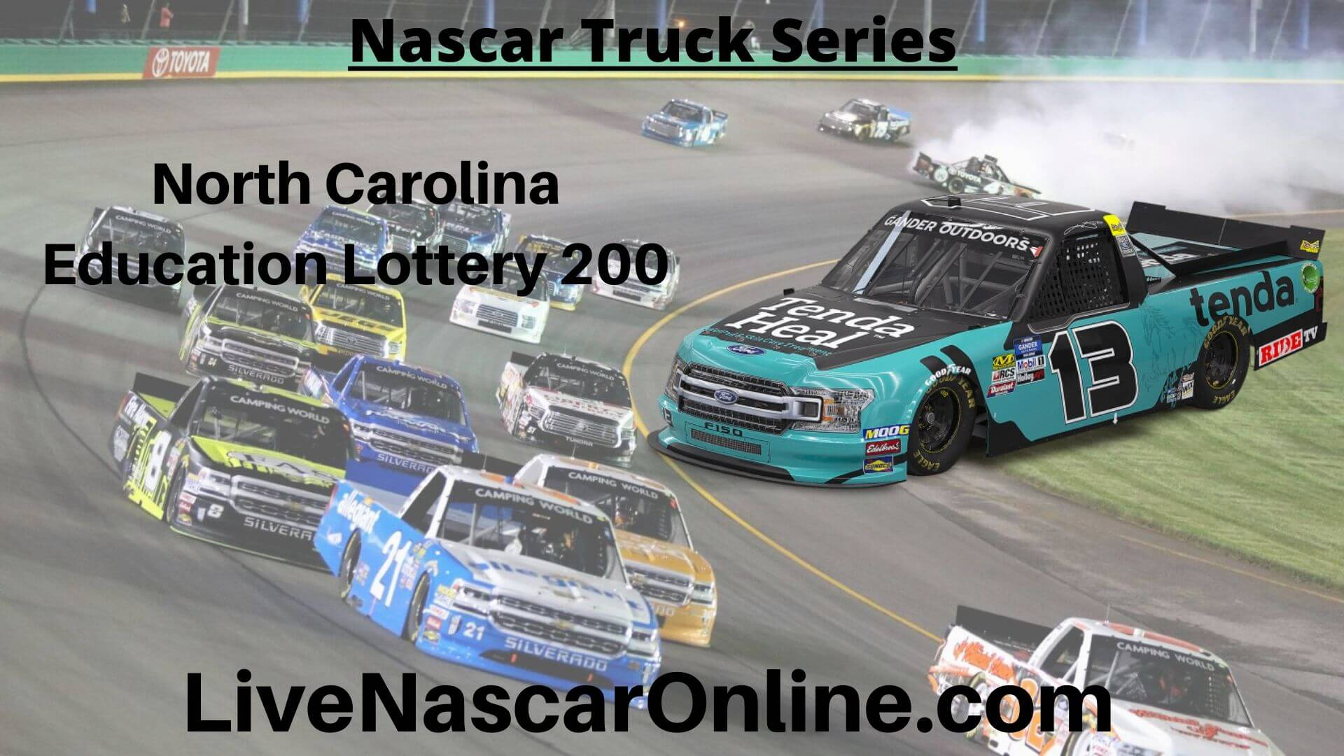 North Carolina Education Lottery 200 Online Stream | NASCAR Charlotte 2020