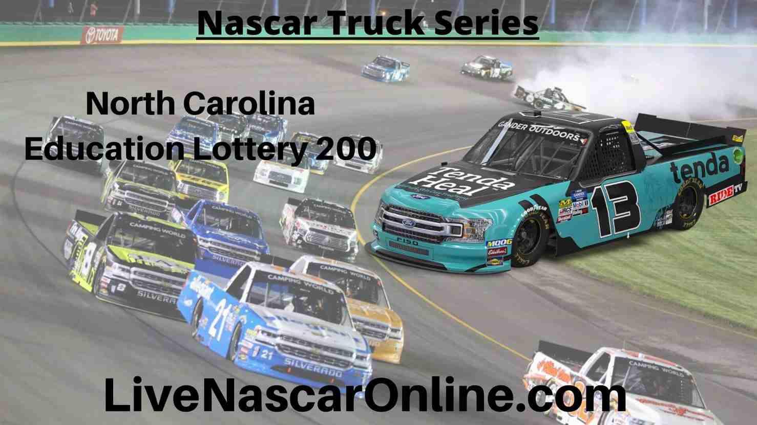 North Carolina Education Lottery 200 Online Stream | NASCAR Charlotte 2020