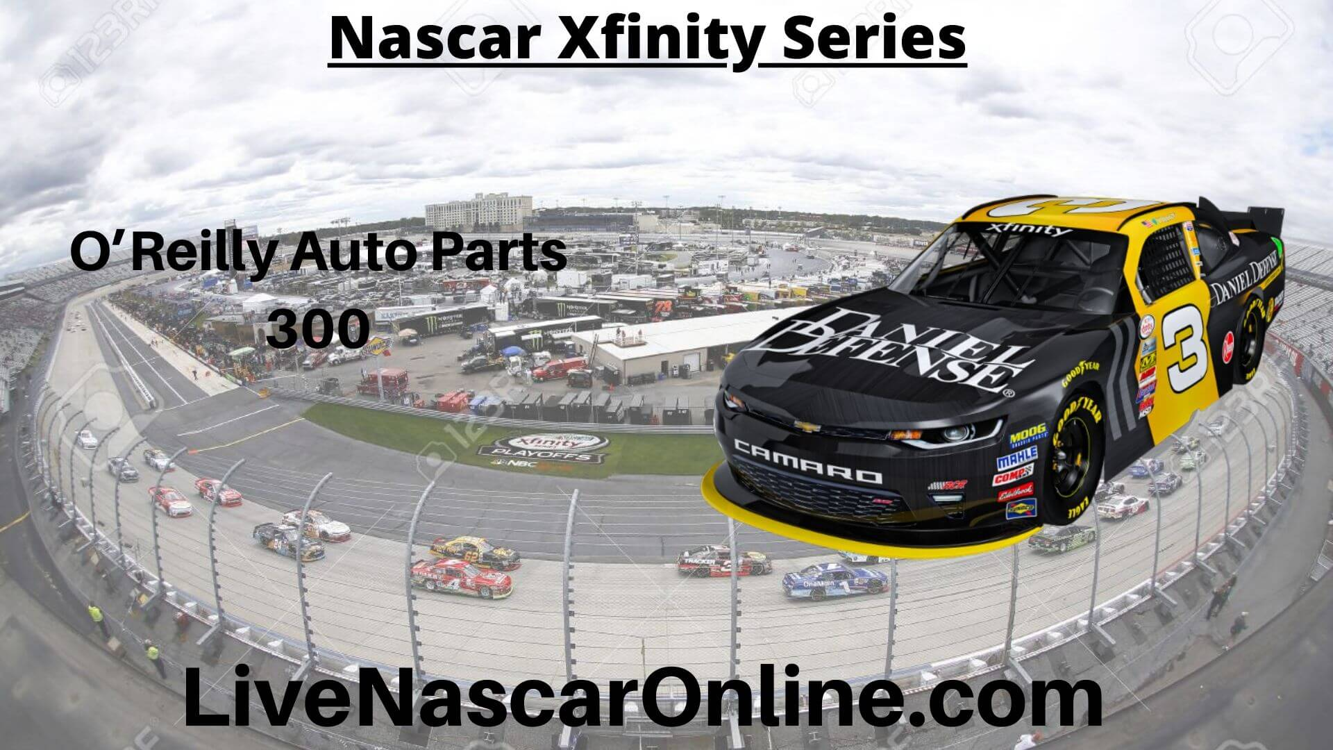 O Reilly Auto Parts 300 Online Stream | NASCAR Texas 2020