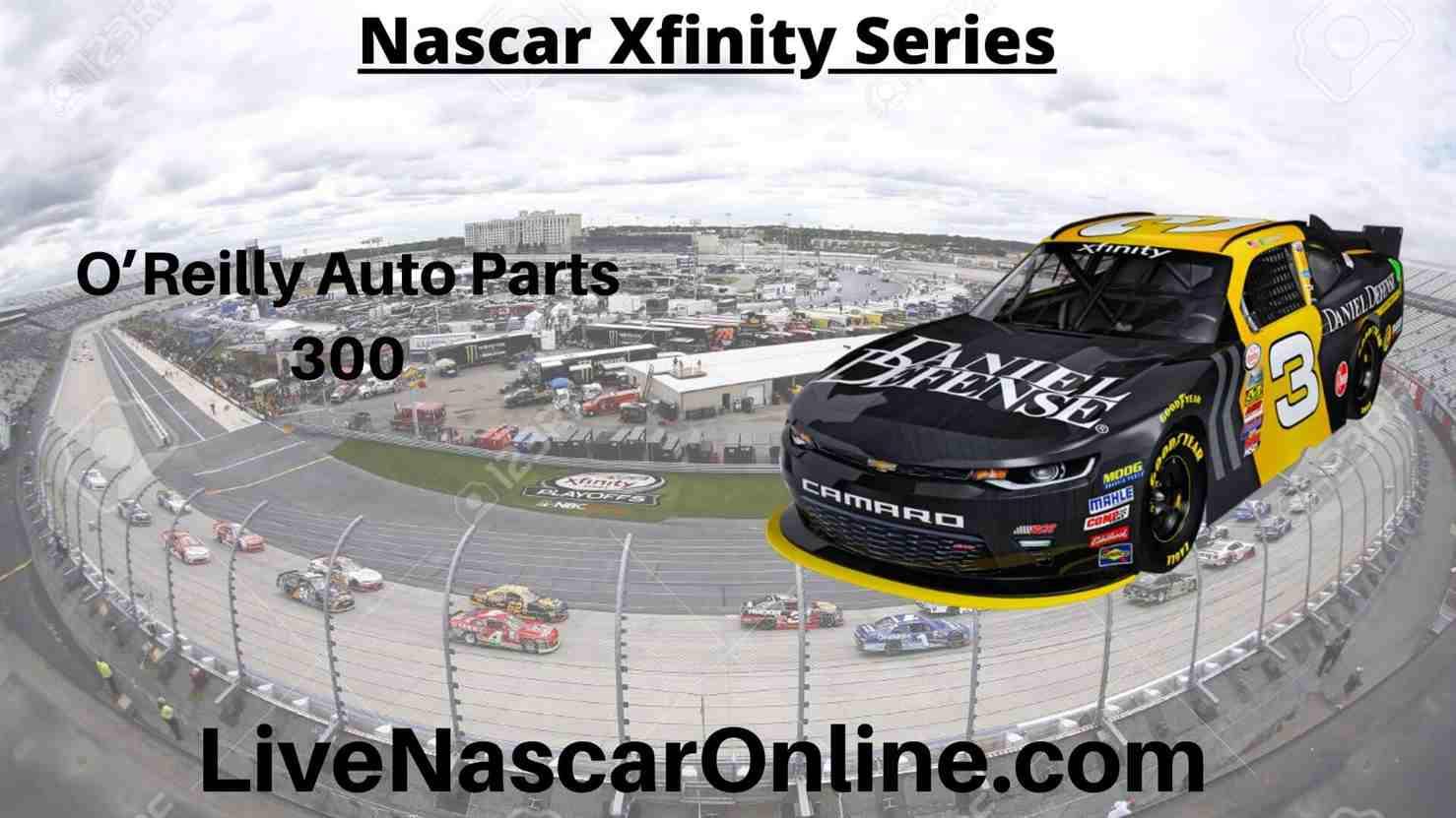 O Reilly Auto Parts 300 Online Stream | NASCAR Texas 2020