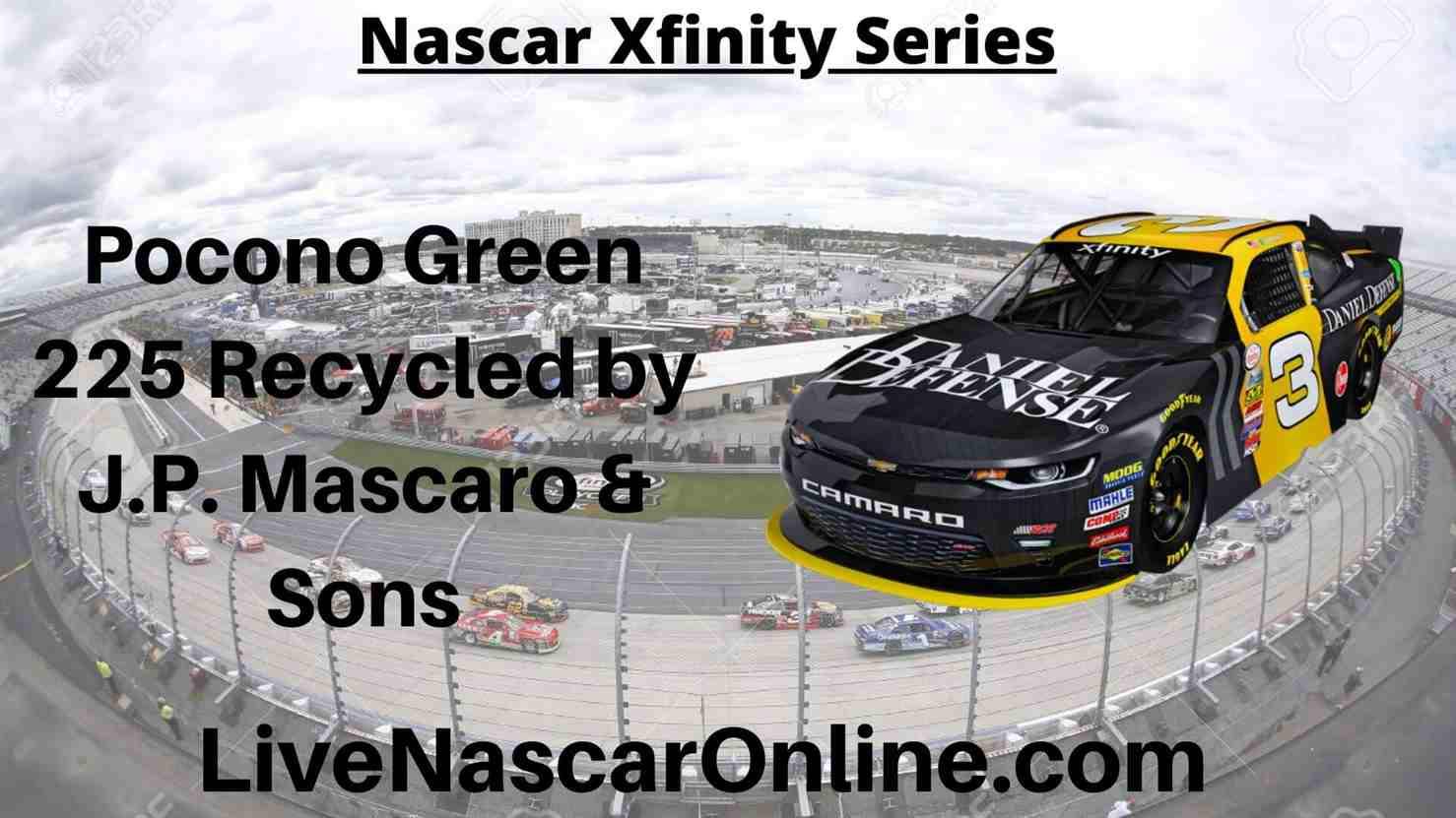 Pocono Green 225 Online Stream | NASCAR Pocono 2020